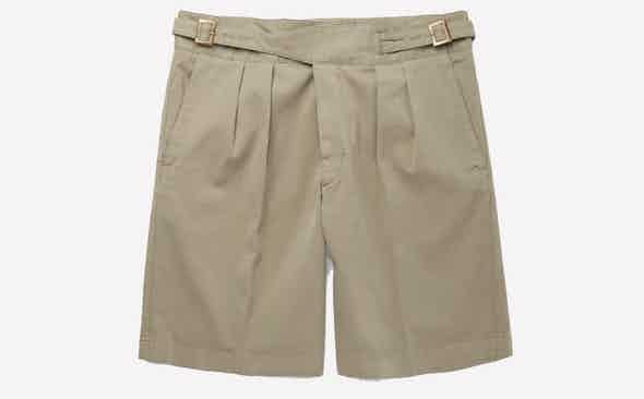 Invest: Rubinacci Washed Stretch-Cotton Bermuda Shorts