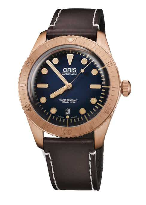 Oris Carl Brashear Limited Edition Divers 42mm Bronze Case,