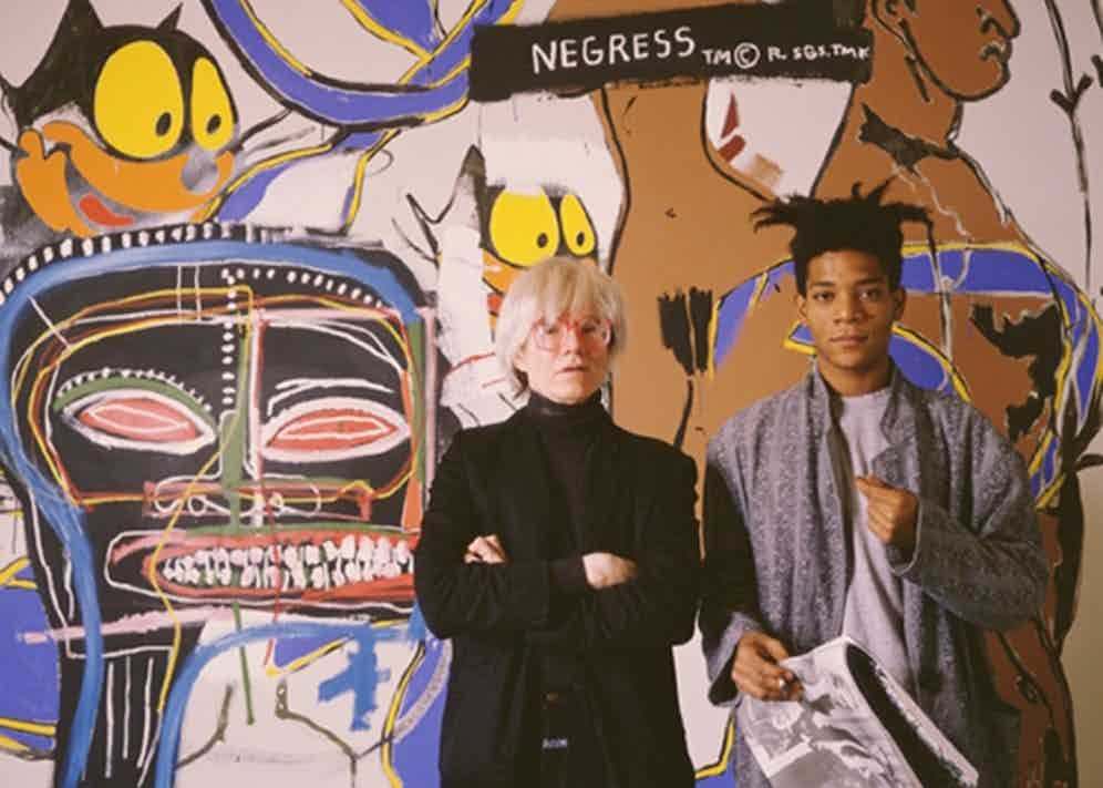 Jean-Michel Basquiat and Andy Warhol