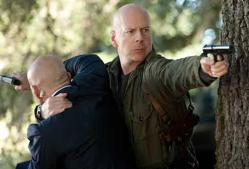 Bruce Willis as Colton in G.I. JOE, 2013.