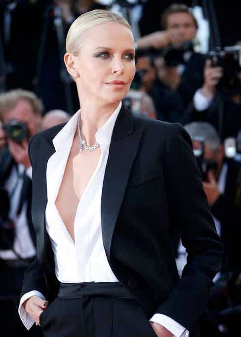 Charlize Theron at Cannes Festival 2016 (aged 40).