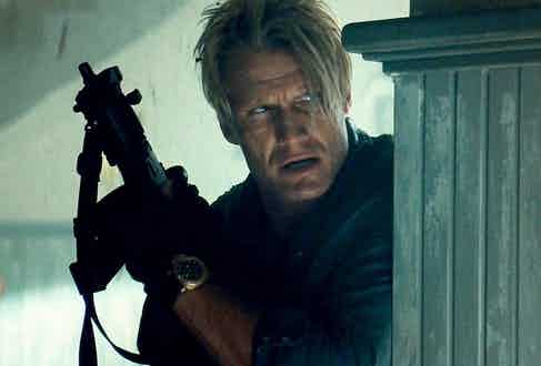 Dolph Lundgren in The Expendables, 2012.