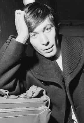 December 1963:  Charlie Watts, drummer for the Rolling Stones. Photo by Chris Ware/Keystone Features/Getty Images.