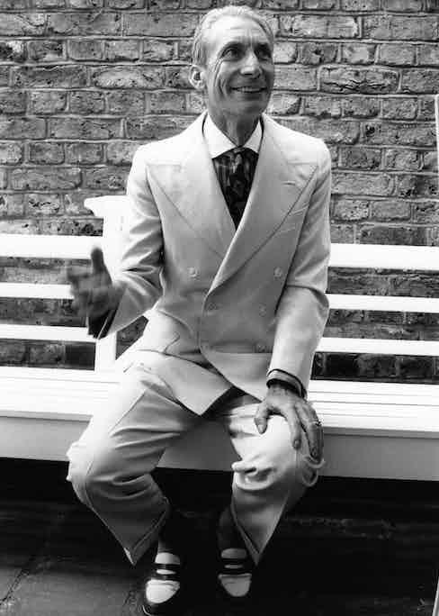 Charlie Watts. Photo by Eamonn McCabe/Redferns.