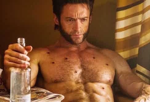 Hugh Jackman as Wolverine in the X-Men series.