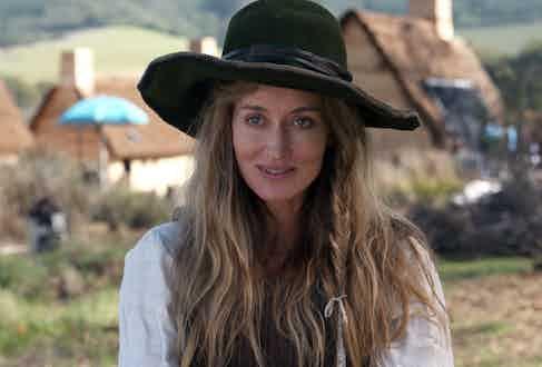 Natascha McElhone in Saints & Strangers, 2015 (aged 45).