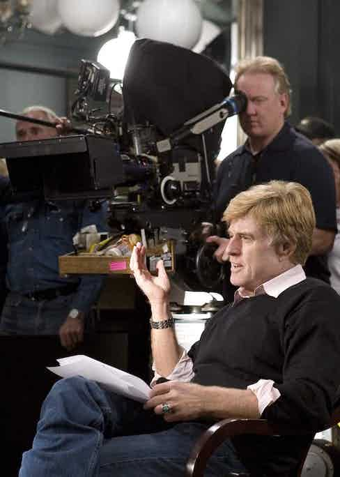 On the set of Lions For Lambs, 2007.