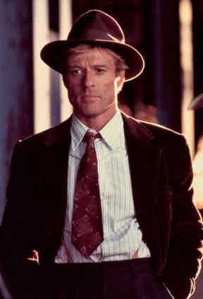 Robert Redford in The Great Gatsby, 1974.