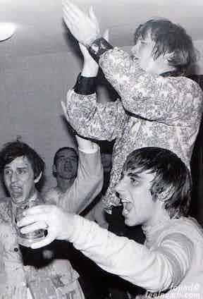 The Who's Keith Moon birthday, 1967.