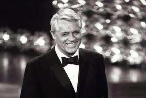 Cary Grant receiving an Academy Honorary Award, 1970.
