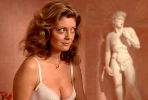 Susan Sarandon in The Rocky Horror Picture Show, 1975.