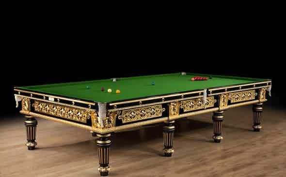 The Impractical Choice: Cox & Yeman Billiards Table