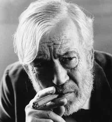 John Juston, 1972. Photo by Roy Jones/Evening Standard/Getty Images.