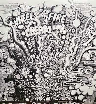 Cream Album Cover, 1968.