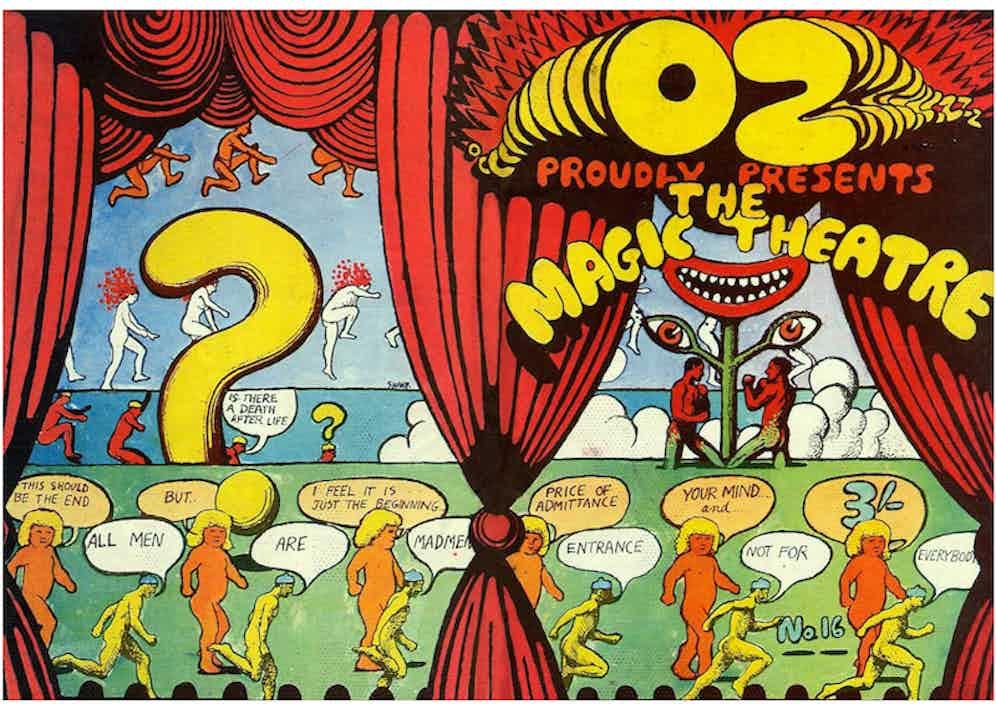 Oz Magazine, The Magic Theatre.