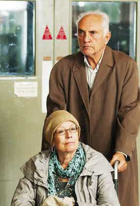 Vanessa Redgrave and Terence Stamp Song For Marion - 2012.  Photo by Snap Stills / Rex Features.