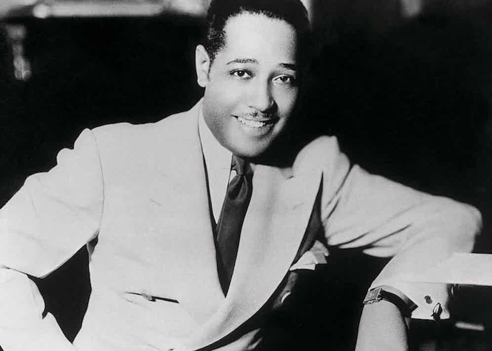 Duke Ellington and his Tank.