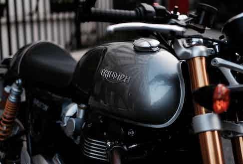Triumph Thruxton R. Photograph by Justin Hast.