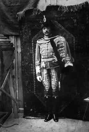 Gabriele d'Annunzio, age 26.