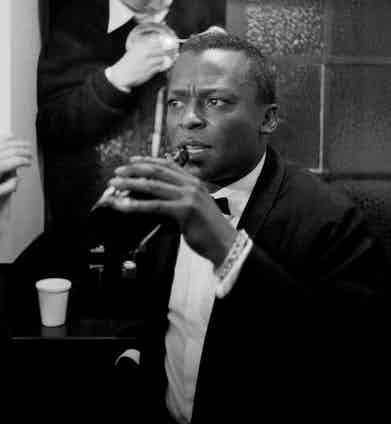 Miles Davis, 1960. Photo by John Bulmer/Getty Images.