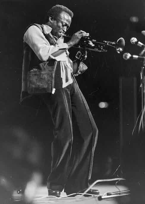 Miles Davis. 1960. Photo by Franz Hubmann/Imagno/Getty Images.