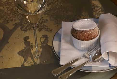 The Gritti Palace's signature souffle.