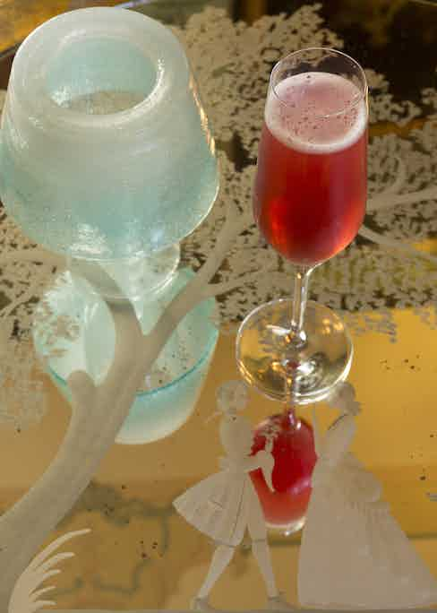 The Gritti Palace's Tiziano cocktail.