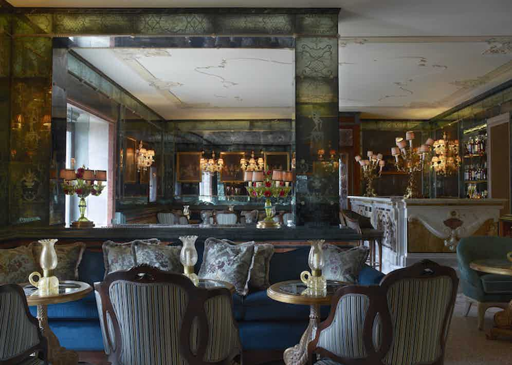 The new Longhi Bar, which has been recently redesigned.