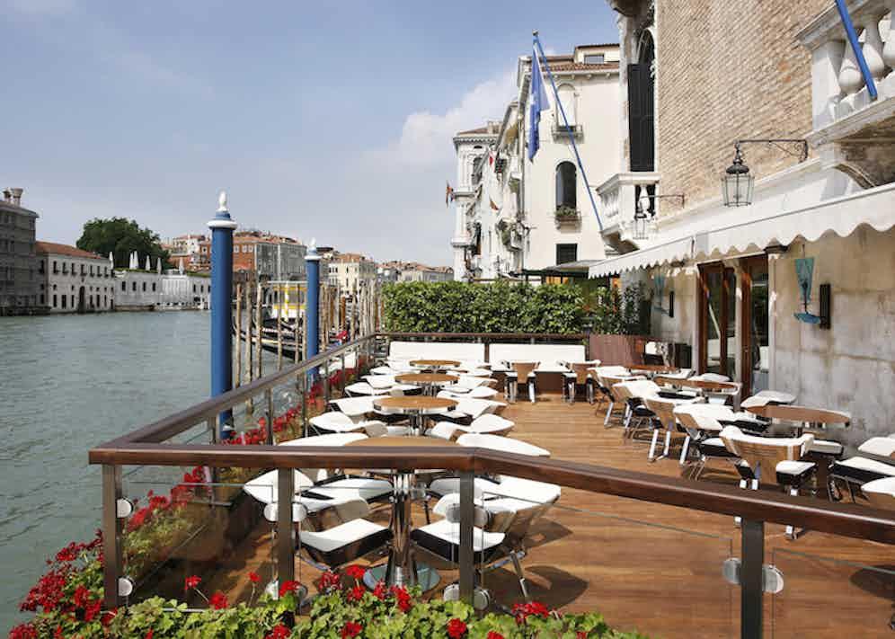 The Riva Lounge terrace.
