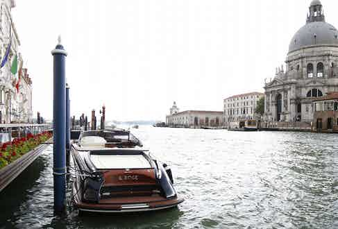 The Riva Yacht experience.
