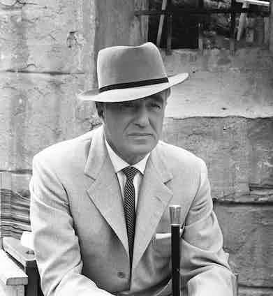 Vittorio De Sica in 'The Four Just Men' TV Series, 1960. Photo by ITV/REX.