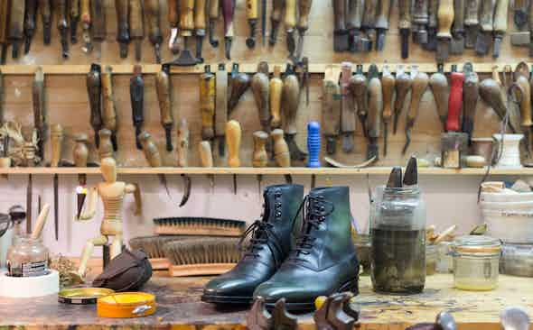 The Boot-making Prowess of Norman Vilalta