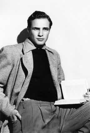 Marlon Brando. Photo by C.Everett Collection/Rex