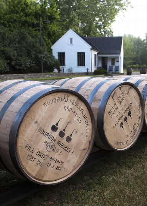 Barrel run at the Woodford Reserve distillery. (Images courtesy of Woodford Reserve)