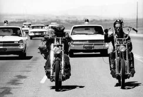 Easy Rider. Photo by Charlie Gillett Collection/Redferns.