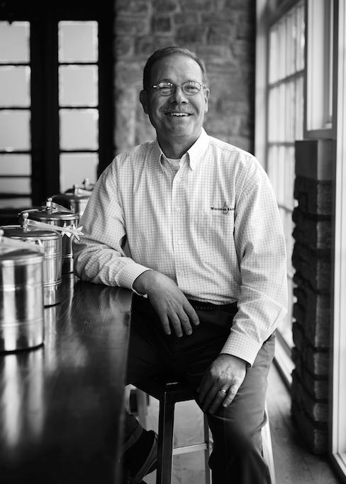 Chris Morris, Master Distiller of Woodford Reserve. (Images courtesy of Woodford Reserve)