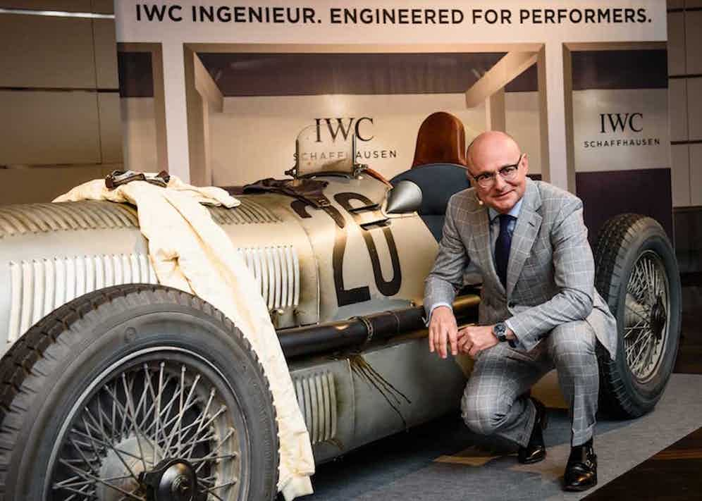 Zurich June 2016; Georges Kern, CEO of watch manufacturer IWC Schaffhausen attends an exclusive Wlecome Dinner at Zurich Dolder Grand Hotel hosted by IWC Schaffhausen, together with all the drivers and many guess of honour to celebrate the start of the Rally Passione Caracciola. Photo by Photopress/IWC.