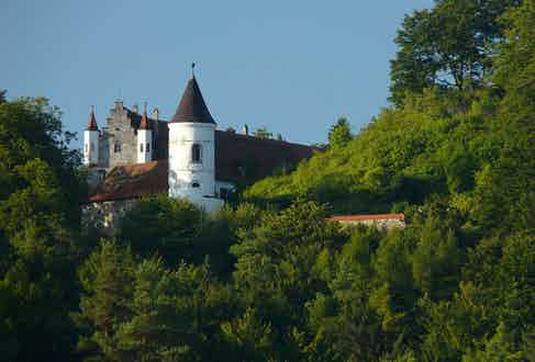 Nicolas Cage's Bavarian castle, Schloss Neidstein. Image courtesy of Klaus M./Wikipedia Commons.