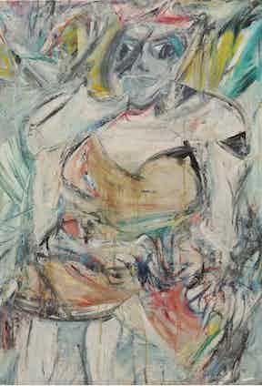 Willem De Kooning, Woman II, 1952. The Museum of Modern Art, New York. Gift of Blanchette Hooker Rockefeller, 1995. © 2016 The Willem de Kooning Foundation / Artists Rights Society (ARS), New York and DACS, London 2016. Digital image © 2016. The Museum of Modern Art, New York/Scala, Florence.