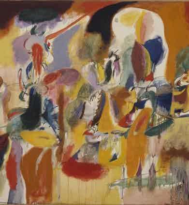 Arshile Gorky, Water of the Flowery Mill, 1944. The Metropolitan Museum of Art, New York. © ARS, NY and DACS, London 2016. Digital image © 2016. The Metropolitan Museum of Art/Art Resource/Scala, Florence.