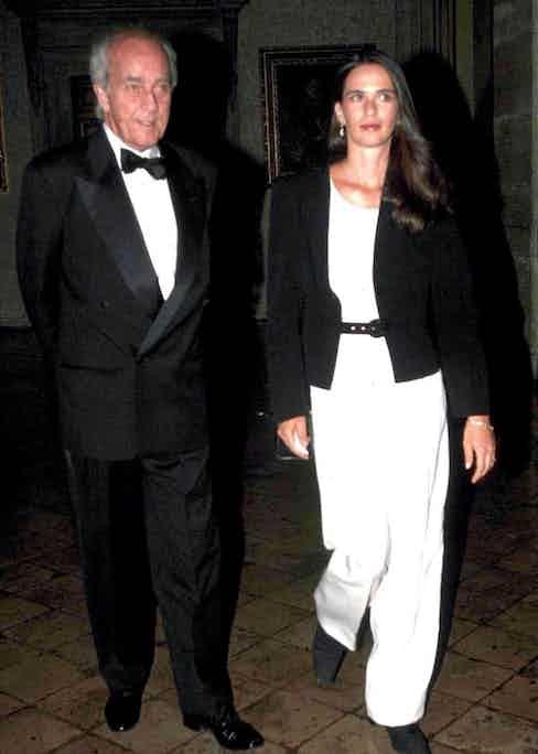 Prince Dado Ruspoli and his wife ex-model Patricia Genest, 1991. Photo by Sipa Press/REX/Shutterstock.