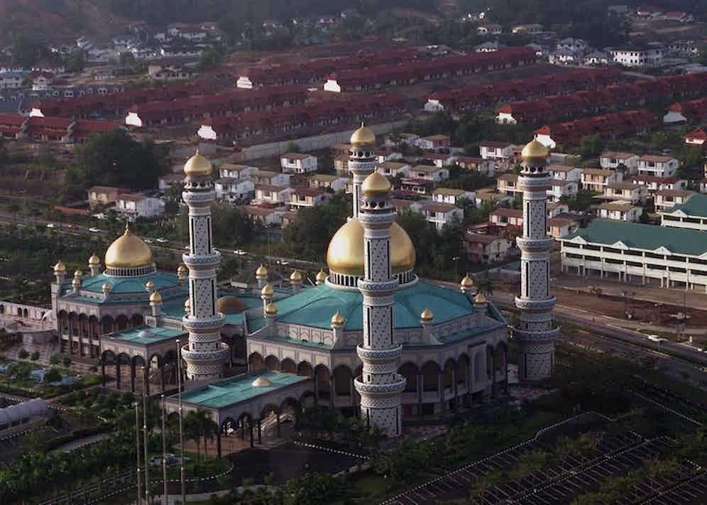 Istana Nurul Iman Palace, Brunei, 1996. Photo by Tim Rooke/REX/Shutterstock.