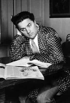 Italian film director Federico Fellini circa 1955. Photo by Silver Screen Collection/Archive Photos/Getty Images.