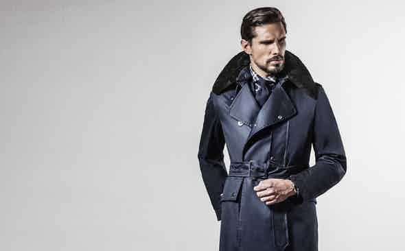 Grenfell for The Rake: The Weatherproof Despatch Rider
