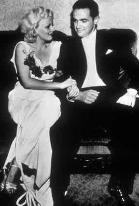 Jean Harlow and Howard Hughes, 1945. Photo by REX/Shutterstock.