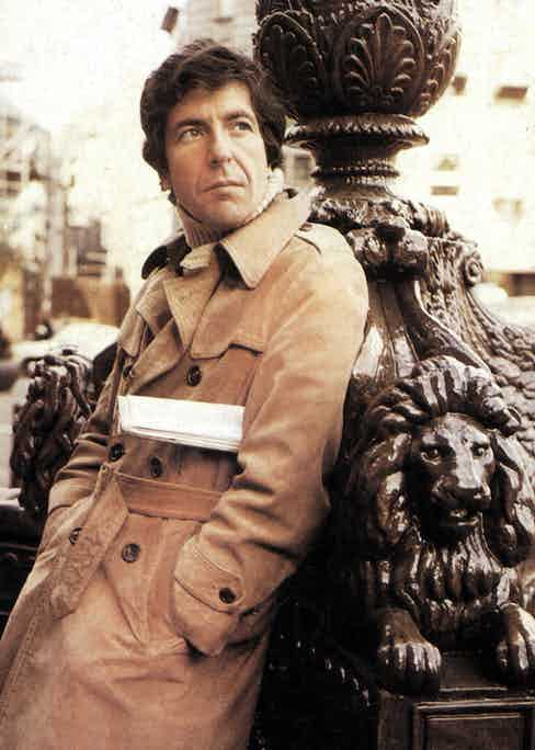 Leonard Cohen, 1972. Photo by GAB Archive/Redferns.