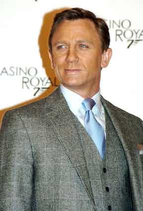 Daniel Craig 'Casino Royale' film premiere, Rome, Italy, 2006. Photo by Camilla Morandi/REX/Shutterstock