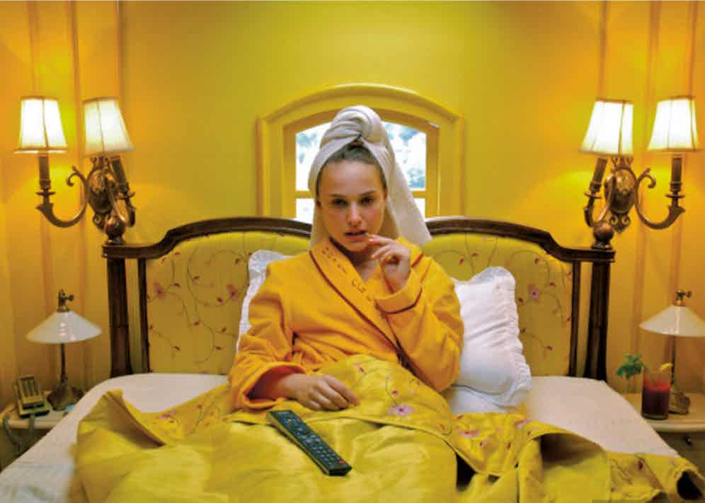 Natalie Portman in Hotel Chevalier (2007), a short film by Wes Anderson.