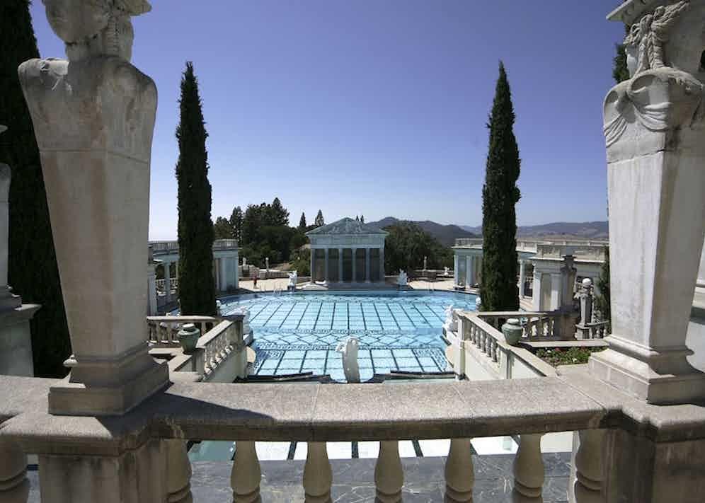 Hearst Castle, San Simeon, California. Photo by David Muscroft/REX/Shutterstock.
