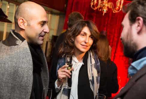 Mark Farhat, Diletta Tesser and The Rake's Online Editor Aleks Cvetkovic.